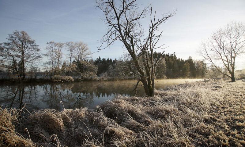 Winterlandschafts-Foto Lengenwies Webfoto-Oberland